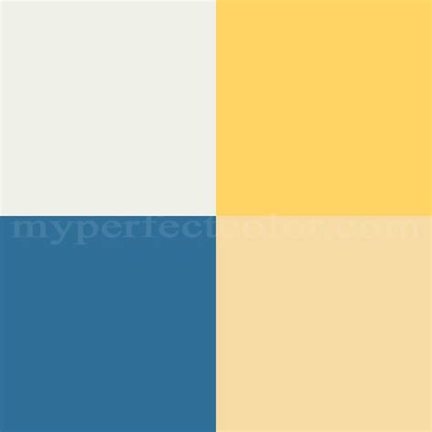 benjamin pottery barn colors summer 2008 hello yellow scheme created by