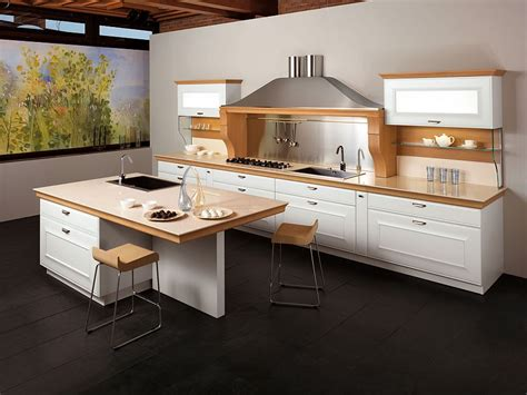 smart kitchen ideas distinctive metallic hoods and modular flexibility shape