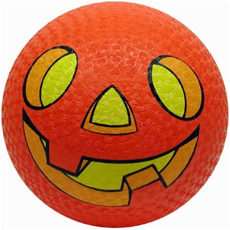 pumpkin rubber st pumpkin bouncing 8 5in 241561 trendyhalloween