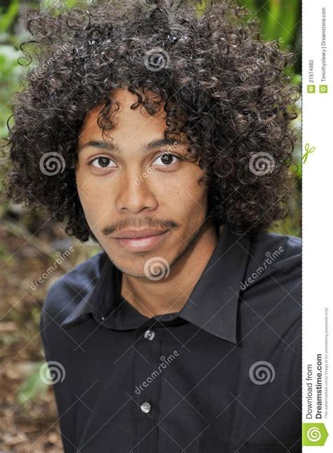afro american afro american male stock photography image 21974982