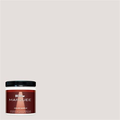 behr marquee 8 oz mq3 3 pink chalk interior exterior paint sle mq30016 the home depot