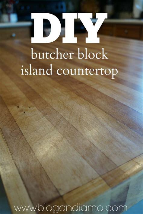 diy butcher block island countertop   sheet