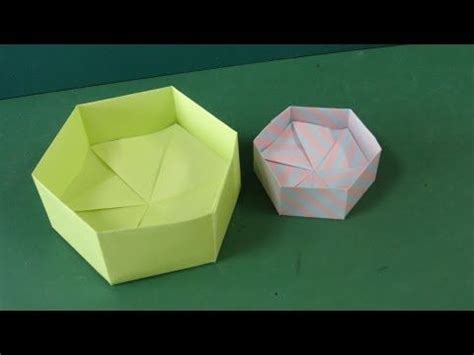 Hexagonal Box Origami - best 25 hexagon box ideas on diy box paper