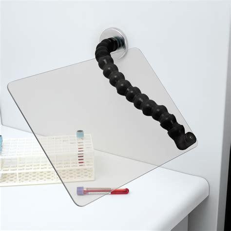 Metal Base Cabinets Gooseneck Safety Shield With Magnetic Base Marketlab Inc