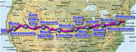 usa road map i 90 i 80 interstate 80 road maps traffic news