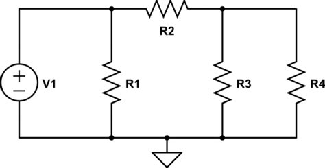resistor t network resistor t network analysis 28 images circuit analysis resistor doesn t make a difference