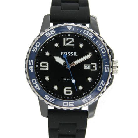 Fossil Original Ch3079 Rubber fossil s wristwatch ceramic silicone ce5004 ebay