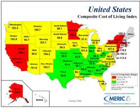 cost of living 2nd quarter 2001