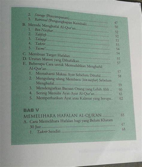 Menjadi Hafizh Tips Dan Motivasi Menghafal Al Quran 1 buku 9 cara praktis menghafal al qur an toko muslim title