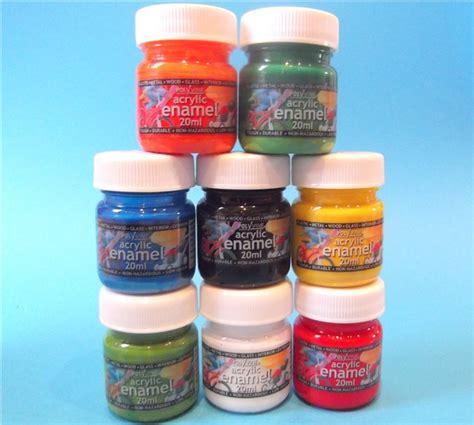 acrylic paint vs enamel for models set 34 colours acrylic enamel airbrush paint 20ml