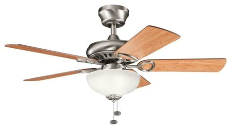 three light antique pewter ceiling fan transitional