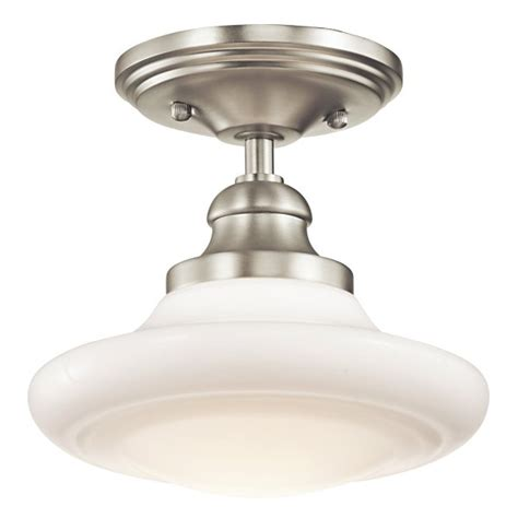 simple flush fitting with choice of l types schoolhouse ceiling light fittings in choice of finishes