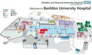 map of hospitals basildon healthcare library is located in basildon hospital