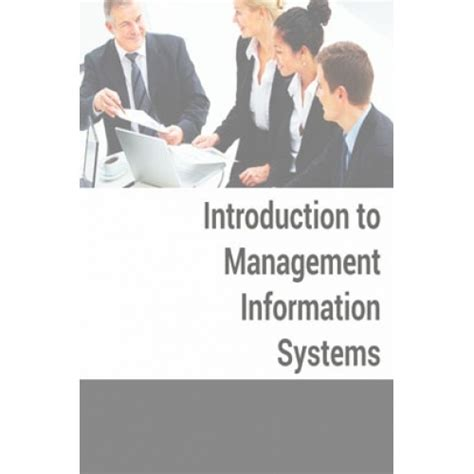 Mba Management Information Systems by Introduction To Management Information System By Pdf