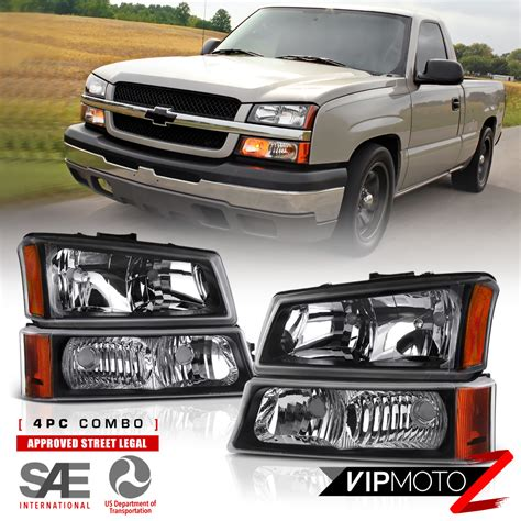 2004 chevy silverado lights 2003 2006 chevy silverado avalanche 1500 2500 3500 black