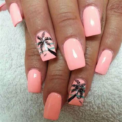 Palm Tree Designs For Nails 40 palm tree nail ideas nenuno creative