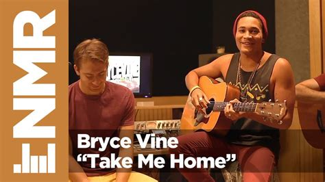 bryce vine take me home bryce vine quot take me home quot acoustic performance nmr