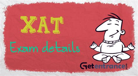 xat pattern of exam xat 2017 application form exam dates exam pattern
