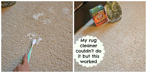 baking soda on rug chemical free cleaning yes hello splendid