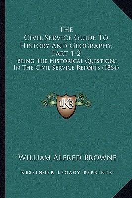 reference books geography civil services the civil service guide to history and geography part 1 2