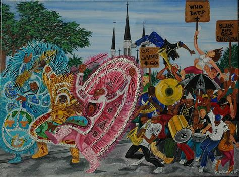 watercolor new orleans second line new orleans secondline painting by mccormick arts