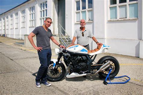 Motorrad Vater De Gsf 1250 Tuning by Fatmile Suzuki Bandit Als Cafe Racer Magazin Auto De