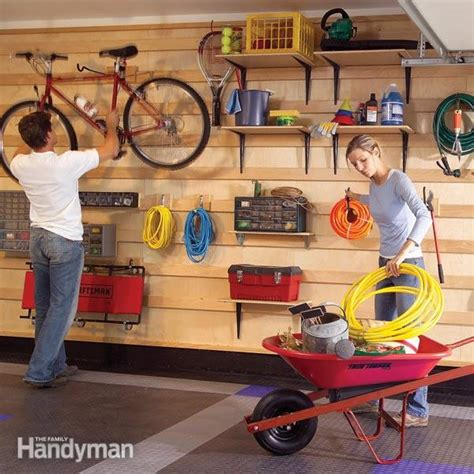 Garage Storage Ideas Handyman Garage Storage Systems The Family Handyman