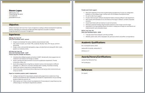 Entry Level Web Developer Resume by Entry Level Web Developer Resume Entry Level Resume