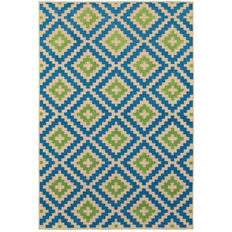 10 x 13 blue green rug home decorators collection cleo green 9 ft x 13 ft area