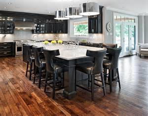Black Kitchen Island With Seating Kitchen Islands With Seating Kitchen Traditional With Coffered Ceiling Breakfast Bar