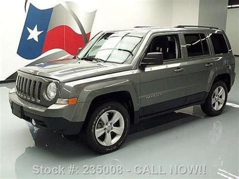 Jeep Patriot 5 Speed Buy Used 2011 Jeep Patriot 4x4 5 Speed Cruise Only