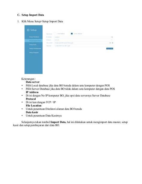 tutorial zahir 6 panduan pengoperasian zahir pos 6