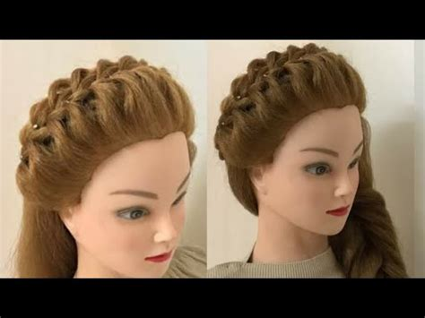 easy and beautiful hairstyles youtube 3 easy beautiful hairstyles with puff youtube