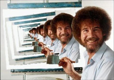 bob ross painting in photoshop image 27095 photoshop bob ross your meme