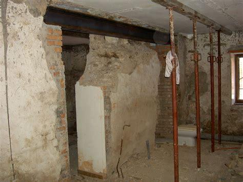 apertura porta apertura porta in muro portante