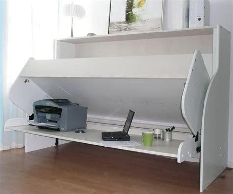 lit escamotable bureau lit escamotable bureau natura 90x190 cm natura90