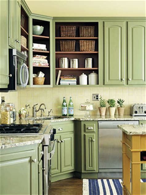 Green Kitchen Cabinet Ideas Designed To The Nines Trend Fresh Colors For
