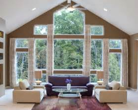 Window Coverings For Large Windows Ideas Window Treatments For Large Windows Drapes Images