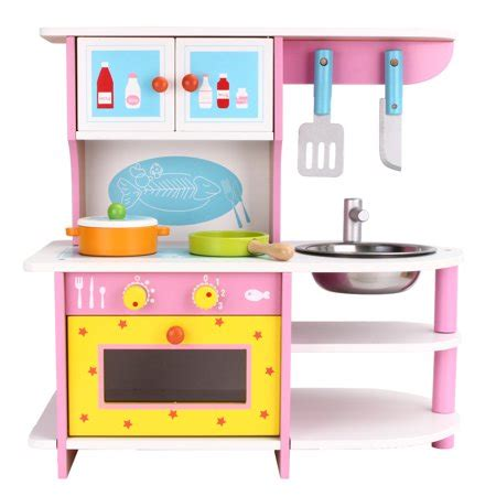 wood kitchen play set wood kitchen play set classic wooden cooking pretend play set for boys and includes