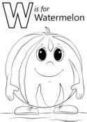 W Is For Worm Coloring Page by W Is For Worm Coloring Page Free Printable Coloring Pages