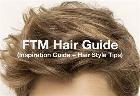 hair for trans point 5cc shares ftm hair style and maintenance tips plus