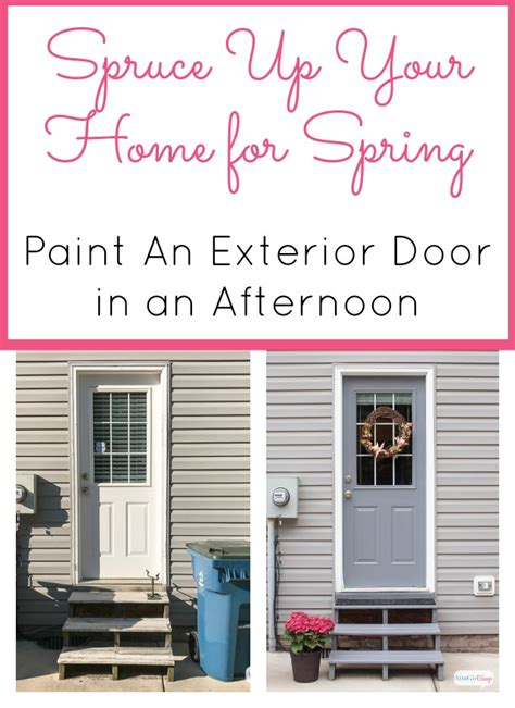 how to paint a front door without removing it how much paint for a front door decorating cents gray