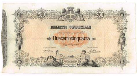 cambiavalute d italia banconote italiane