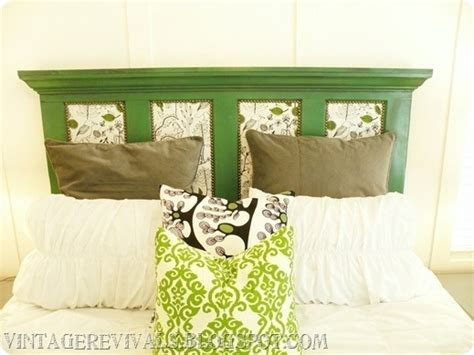headboards out of doors diy upcycled headboards fabrictherapy