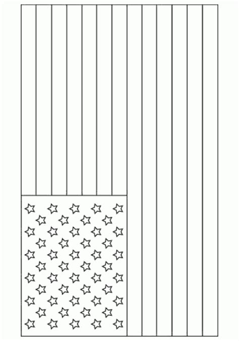 template of the american flag american flag free printable coloring pages