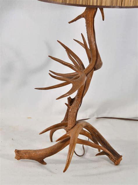 Deer Horn Furniture by Custom Made Deer Horn Table L At 1stdibs