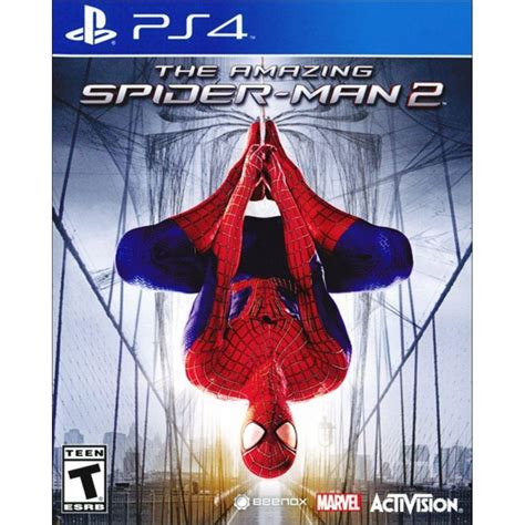 kaset ps4 the amazing spider 2 the amazing spider 2 ps4 jogos playstation 4 no