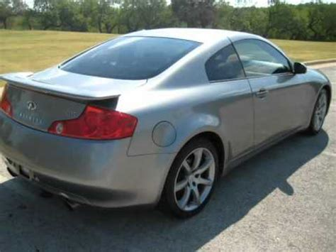 infiniti g35 sport package 2004 infiniti g35 coupe auto sport package with navigation