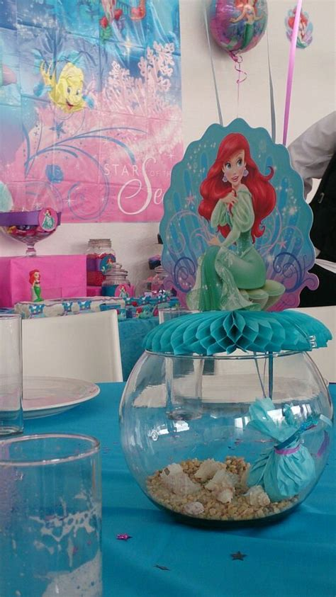 little mermaid centerpiece little mermaid birthday party