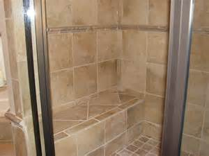 built in shower seat for the home